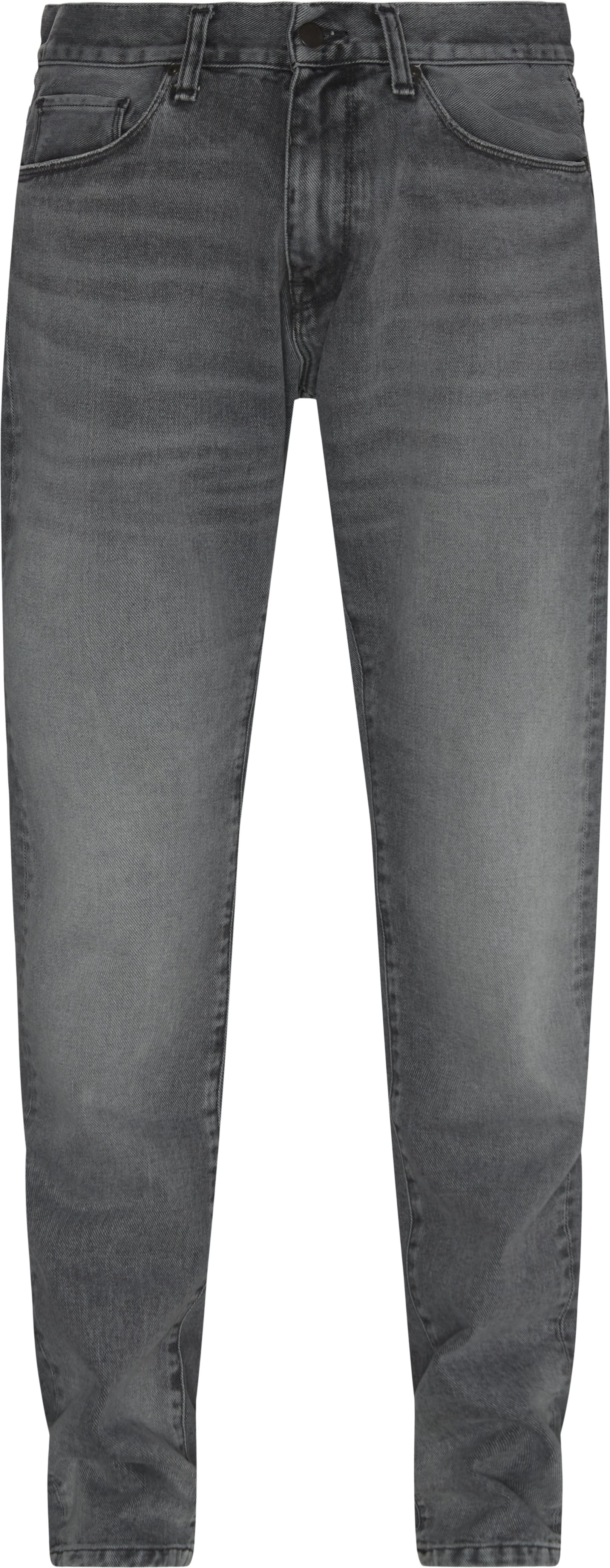 Jeans - Tapered fit - Svart